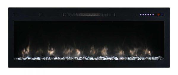 "Modern Flames SL50-B Spectrum 5000 BTU 50"" Wide Built-In Vent Free Electric Fireplace 6"