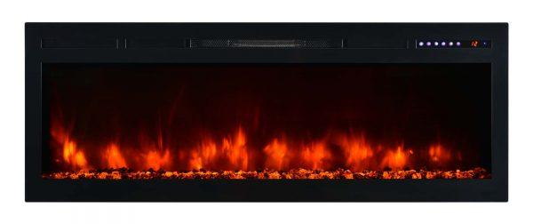 "Modern Flames SL50-B Spectrum 5000 BTU 50"" Wide Built-In Vent Free Electric Fireplace"