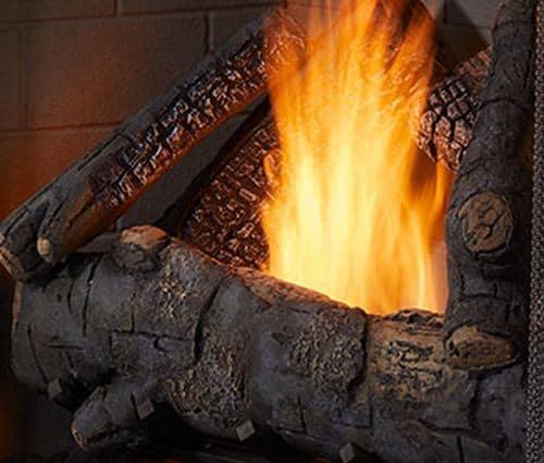 Monessen Standard definition Log Set for Courtyard Fireplaces