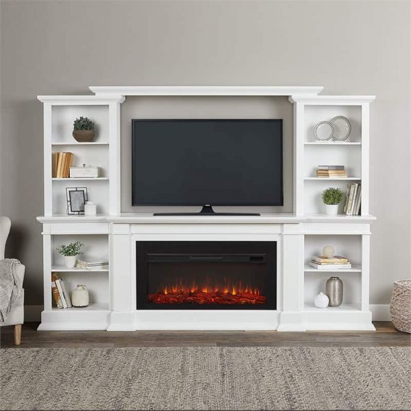 Monte Vista Media Electric Fireplace by Real Flame 1