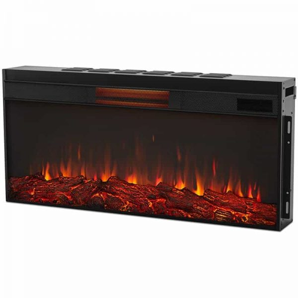 Monte Vista Media Electric Fireplace by Real Flame 11