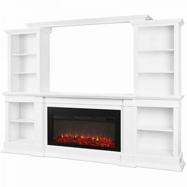 Monte Vista Media Electric Fireplace by Real Flame