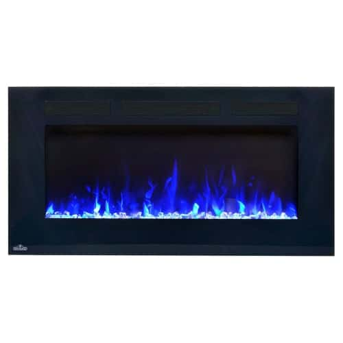 Napoleon Allure Phantom 50-inch Linear Wall Mount Electric Fireplace with Mesh Screen 4
