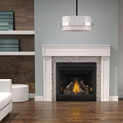 Napoleon B36TRE 18000 BTU Built-In Direct Vent Natural Gas Fireplace