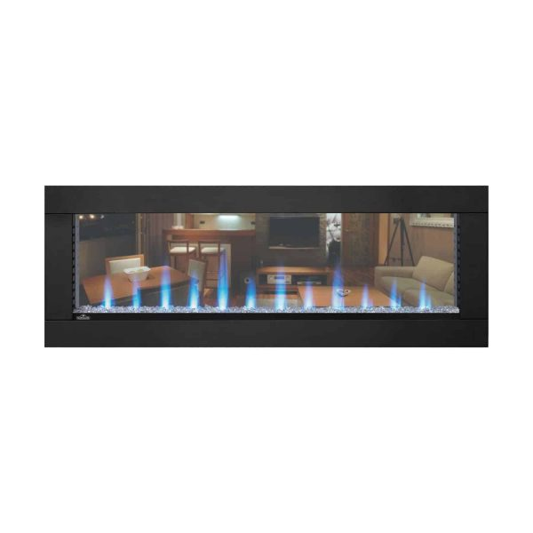 Napoleon CLEARion Built-In See-Thru Electric Fireplace