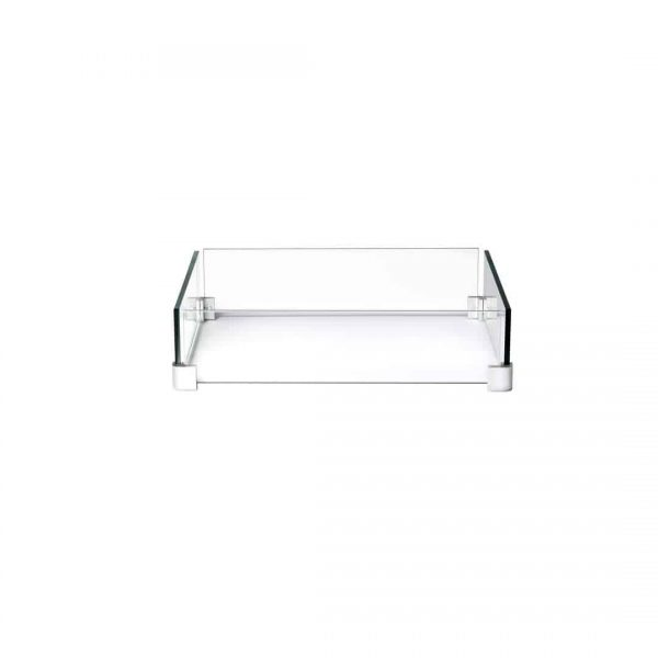 Napoleon GPFTS-WNDSCRN Clear Square Windscreen For St. Tropez And Kensington 1