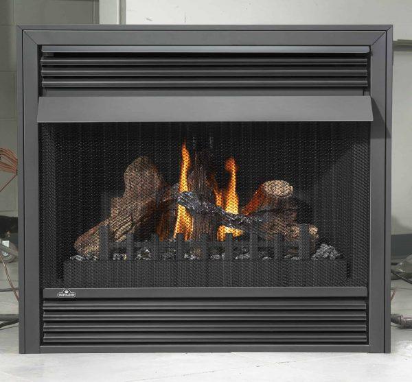 000 BTU Vent Free Zero Clearance Gas Fireplace