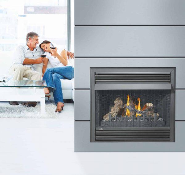 Napoleon GVF36 30,000 BTU Vent Free Zero Clearance Gas Fireplace 1