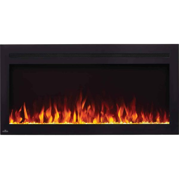 Napoleon NEFL60HI Purview 60 Inch Linear Electric Wall Mount Fireplace w/ Remote 1