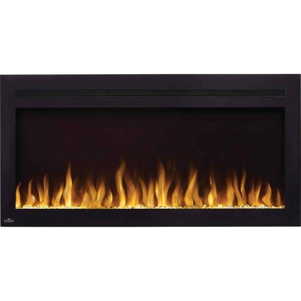 Napoleon NEFL60HI Purview 60 Inch Linear Electric Wall Mount Fireplace w/ Remote 2