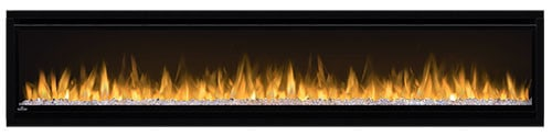 "Napoleon NEFL74CHS Black Alluravision 5000 BTU 77"" Wall Mount Vent Free Electric Fireplace 2"