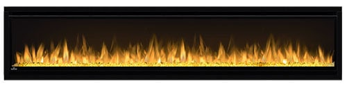 "Napoleon NEFL74CHS Black Alluravision 5000 BTU 77"" Wall Mount Vent Free Electric Fireplace 6"