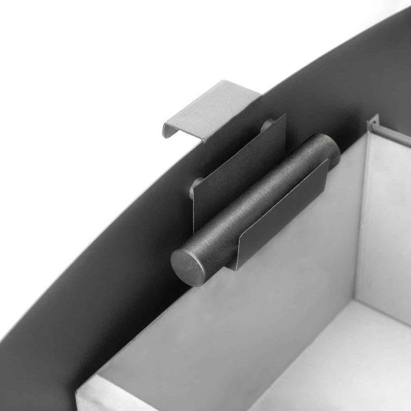 Napoleon S9 Metallic Charcoal 85000 BTU 3.0 Cubic Foot Wood Stove 3