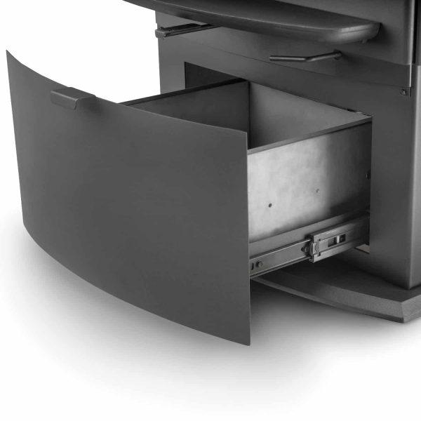 Napoleon S9 Metallic Charcoal 85000 BTU 3.0 Cubic Foot Wood Stove 4