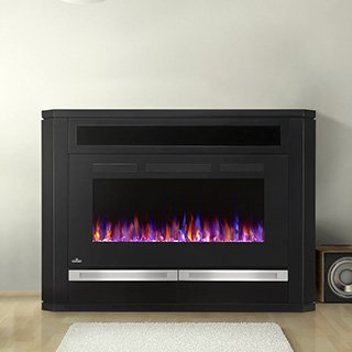 Napoleon The Alanis 42 in. Electric Fireplace Entertainment Center