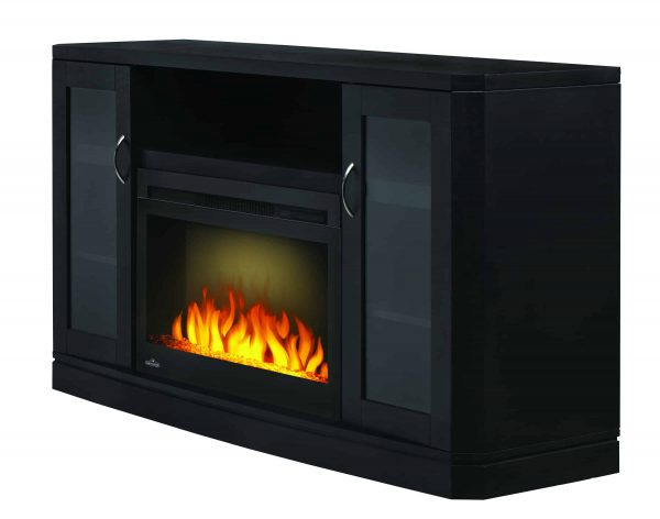 Napoleon The Crawford 54-Inch Electric Fireplace Entertainment Package - NEFP27-1116B 1