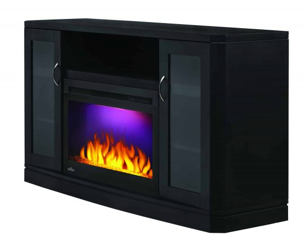 Napoleon The Crawford 54-Inch Electric Fireplace Entertainment Package - NEFP27-1116B 2