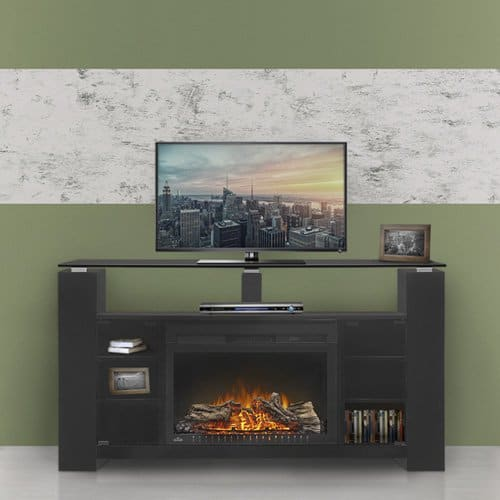 Napoleon The Foley 27 in. Electric Fireplace Entertainment Center
