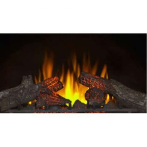 Napoleon Woodland NEFI24H 24-inch Built-In Vent Free Electric Fireplace Insert