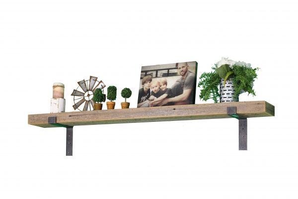 Natural Industrial Mantel Shelf 1
