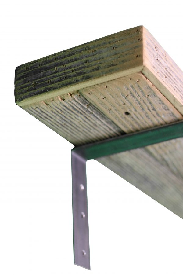 Natural Industrial Mantel Shelf 5