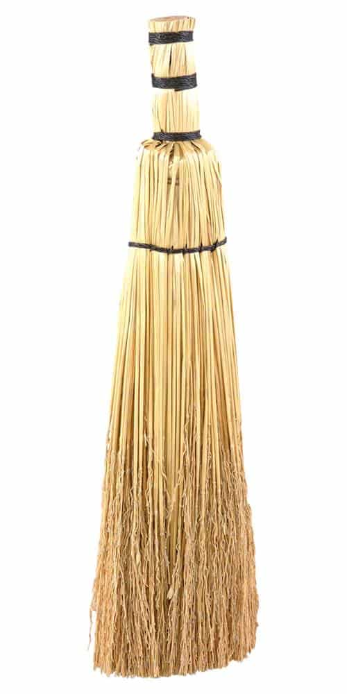 Natural Straw Replacement Fireplace Broom Brush Head