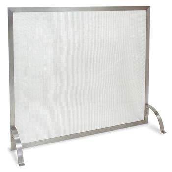 Newport Single Panel Screen-Stainless Steel