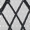 Noble House Christopher Iron Fireplace Screen, Silver Flower on Black 20