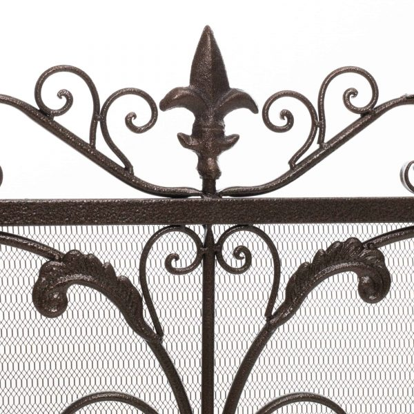 Noble House Crenshaw Fireplace Screen 2