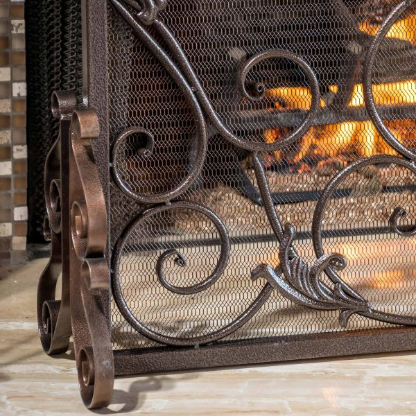 Noble House Crenshaw Fireplace Screen 8