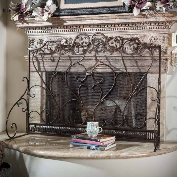 Noble House Franklin Fireplace Screen