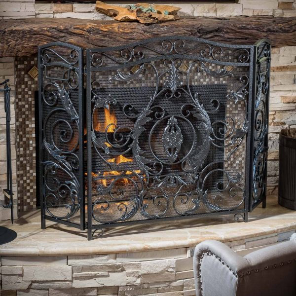 Noble House Waterbury Fireplace Screen