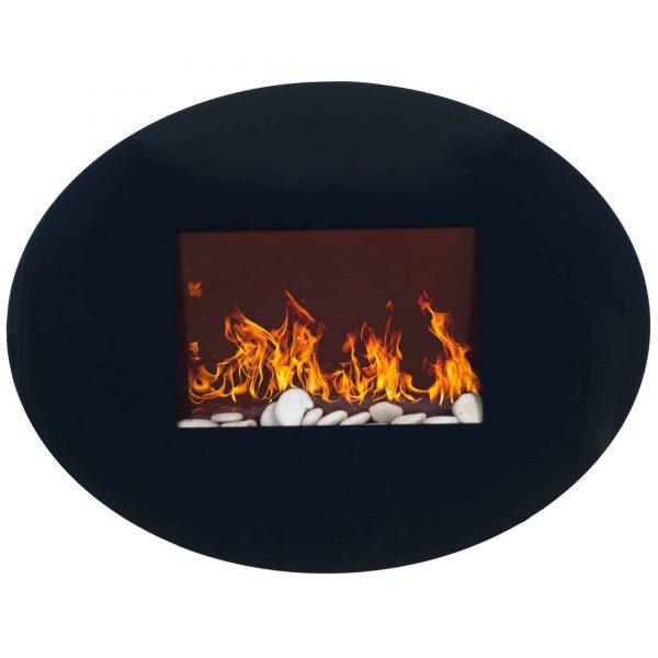 Northwest Glass Wall Mounted Electric Fireplace 1