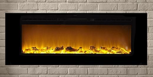 Orren Ellis Slack Wall Mounted Electric Fireplace 3