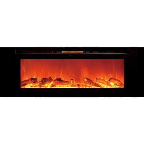 Orren Ellis Slack Wall Mounted Electric Fireplace