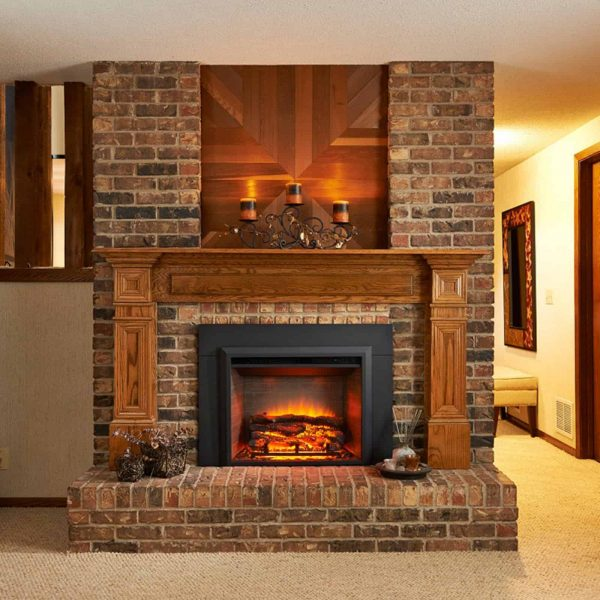 Outdoor GreatRoom Electric Fireplace Insert 1