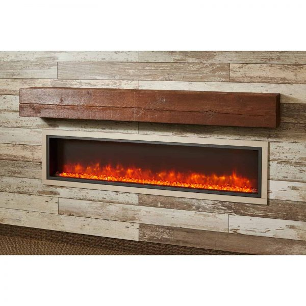 Outdoor GreatRoom Gallery Electric Linear Built-In Fireplace