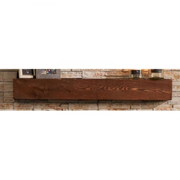 Outdoor Greatroom Gallery Collection Linear Supercast Wood Mantel 1
