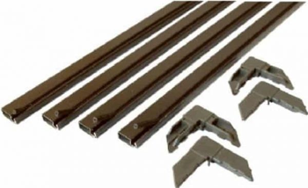 PL 7809 Bronze Make-To-Fit Screen Kit for 36-Inch-Square Screen - Quantity 1 1