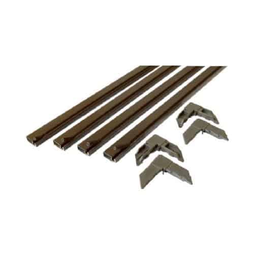 PL 7809 Bronze Make-To-Fit Screen Kit for 36-Inch-Square Screen - Quantity 1