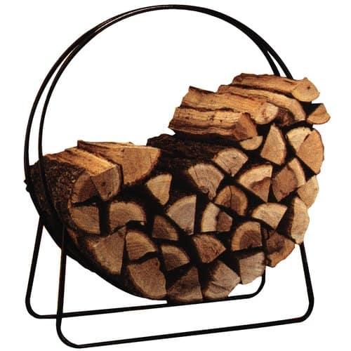 "Panacea 40"" Tubular Steel Log Hoop"