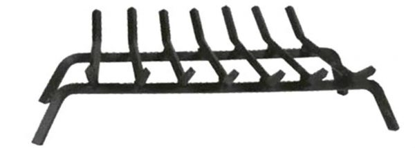 Panacea Products 15450TV 18-Inch Black Wrought Iron Fireplace Grate 1