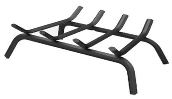 Panacea Products 15450TV 18-Inch Black Wrought Iron Fireplace Grate