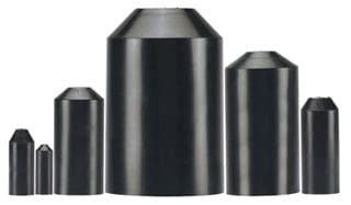Panduit HSEC1.5-5 Thick Wall End Cap (Pack of 5)
