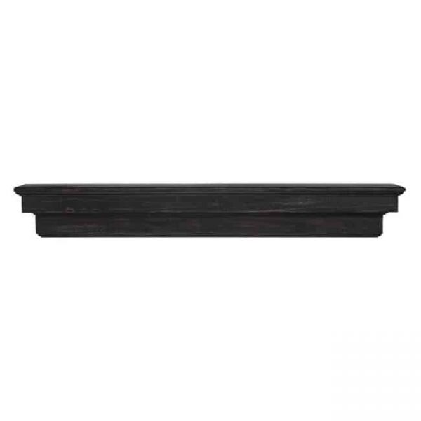 Pearl Mantels 497-72-20 The Celeste 72 in. Mantel Shelf