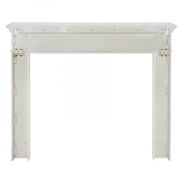 Pearl Mantels 525-48 48 in. The Mike Fireplace Mantel Mdf Paint, White 1