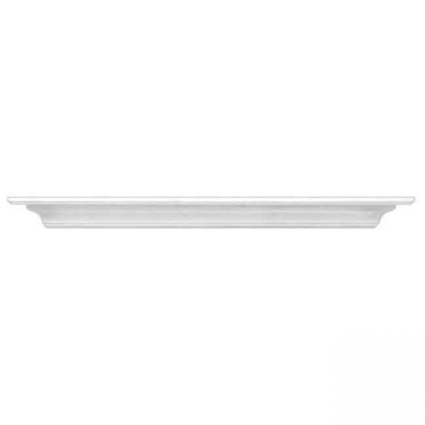 Pearl Mantels 618-60 Crestwood 60 inches Fireplace Mantel Shelf White Paint Medium Density Fiberboard