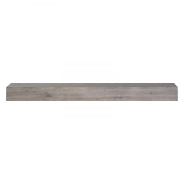 Pearl Mantels Acacia 60 in. Distressed Fireplace Mantel Shelf