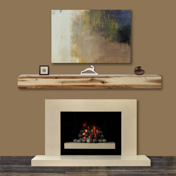 Pearl Mantels Acacia 72 in. Fireplace Mantel Shelf 10