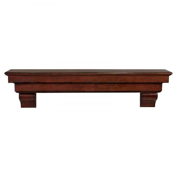 Pearl Mantels Auburn Traditional Fireplace Mantel Shelf
